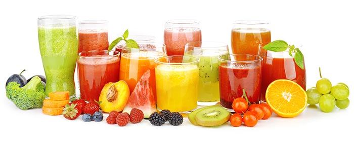 propiedades de los zumos