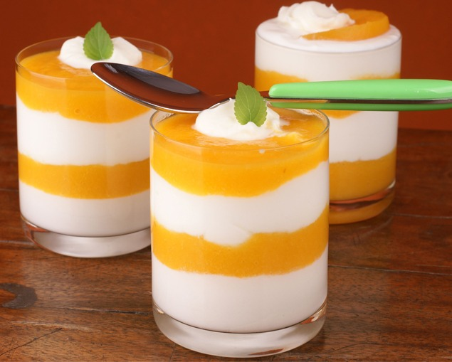 mousse papaya naranja